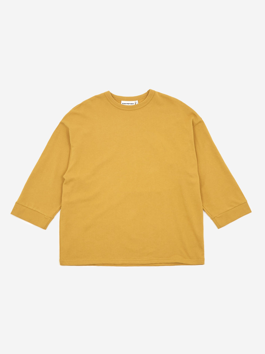 Can Pep Rey Can Pep Rey Carlos Sweatshirt - Curry
