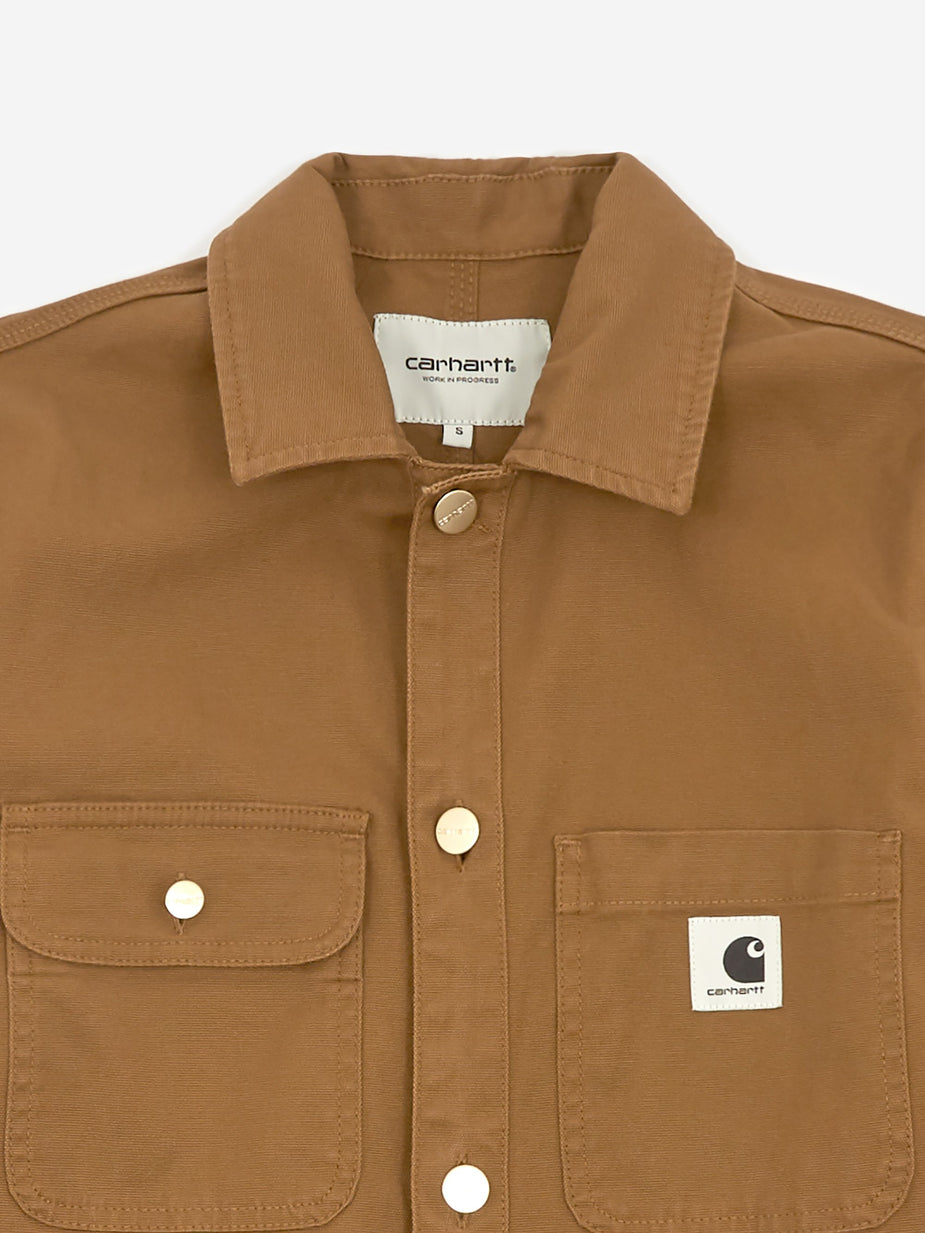 Carhartt WIP Carhartt WIP Tara Coverall - Hamilton Brown Rinsed - Brown