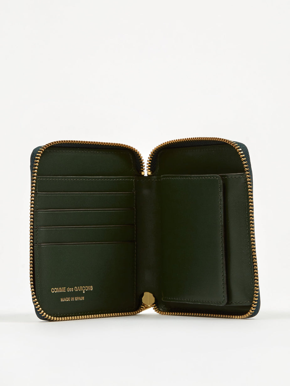 Comme des Garcons Wallets Comme des Garcons Wallets Classic Leather (SA2100) - Bottle Gree - Green