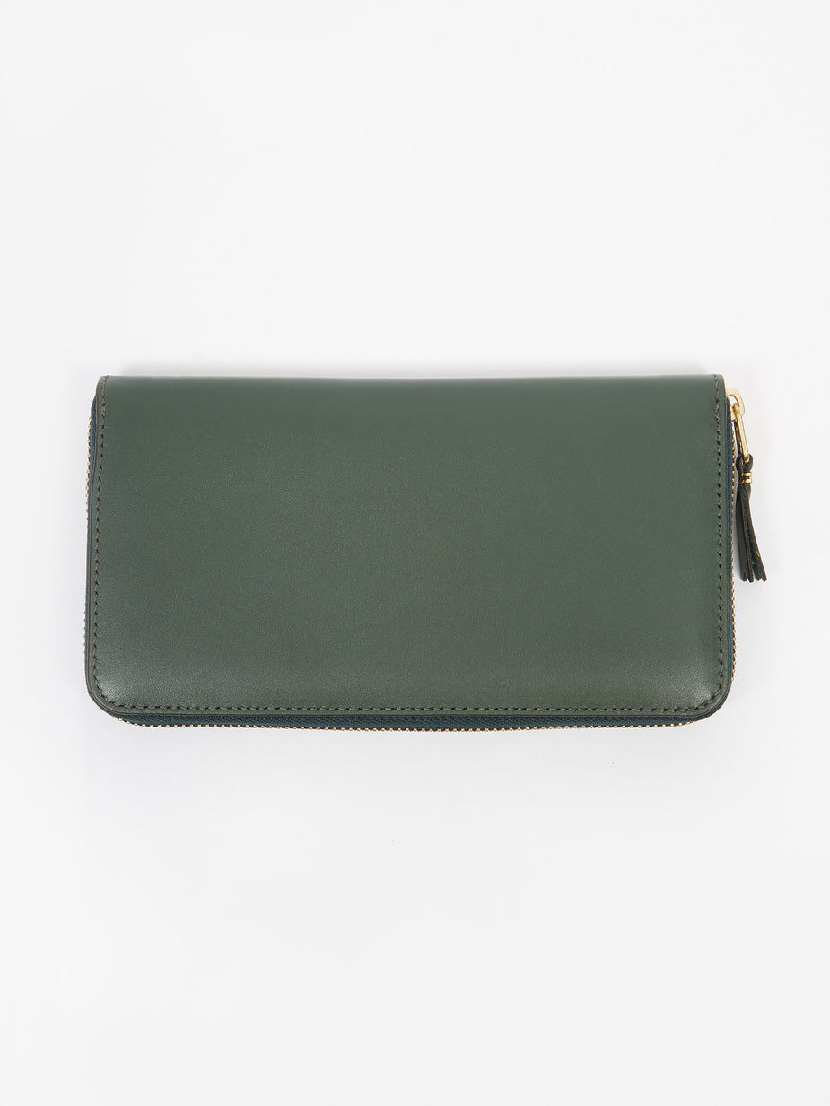 Comme des Garcons Wallets Comme des Garcons Wallets Classic Leather (SA0111) - Bottle Gree - Green