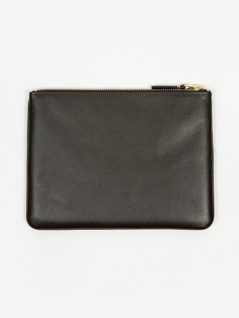 Comme des Garcons Wallets Comme Des Garcons Wallets Classic Leather W (SA5100) - Black - Black