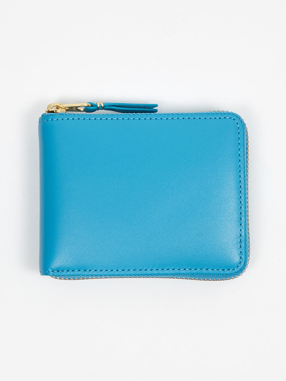 Comme des Garcons Wallets Comme Des Garcons Wallets Classic Leather XS (SA7100) - Blue - Blue
