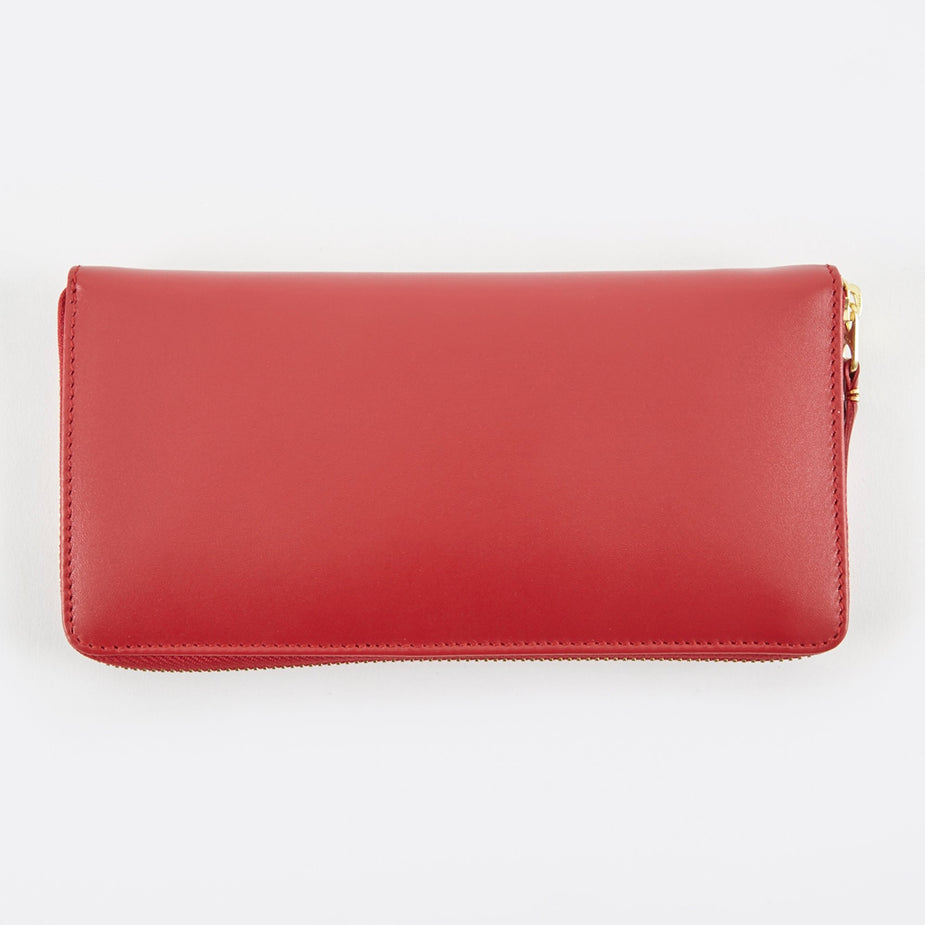 Comme des Garcons Wallets Comme Des Garcons Wallets Classic Leather L  (SA0110) - Red - Red