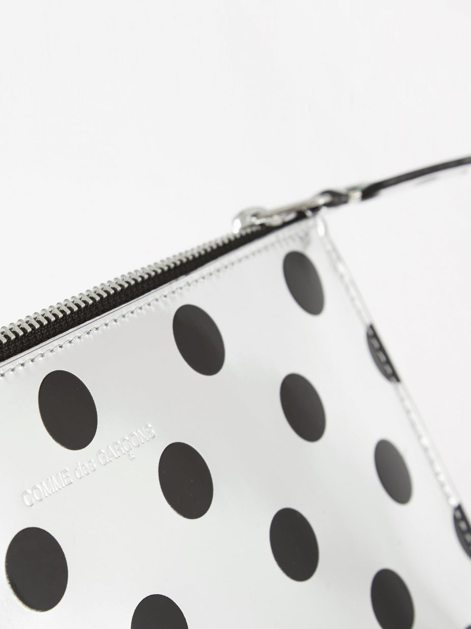 Comme des Garcons Wallets Comme des Garcons Wallets Optical Group (SA5100GA) - Dot/Silver - Silver