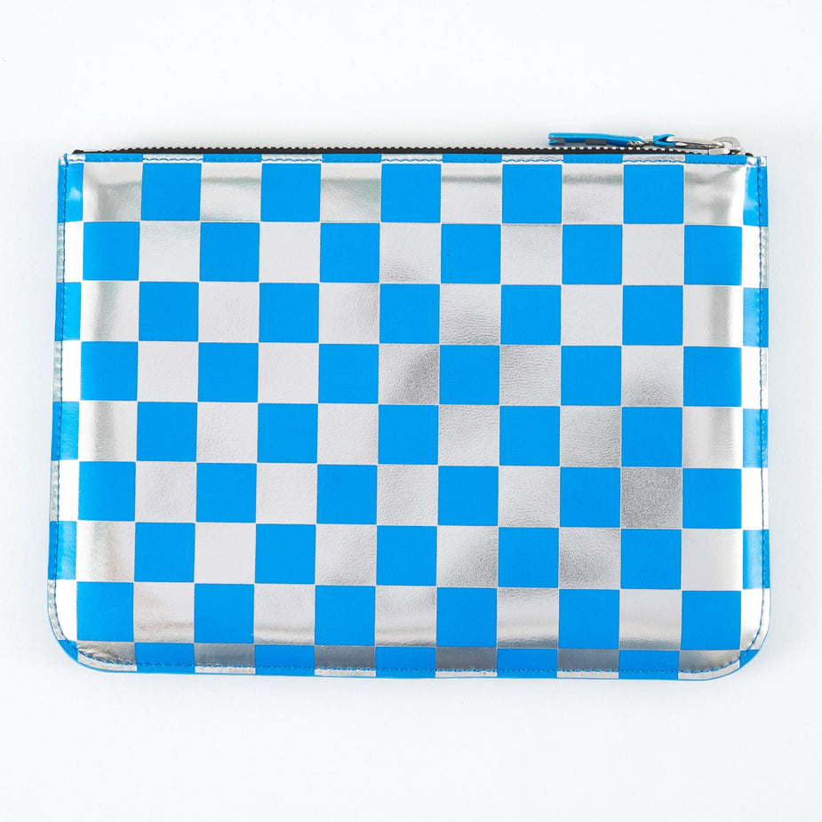 Comme des Garcons Wallets Comme des Garcons Wallets Optical Group (SA5100GB) - Check/Blue - Blue