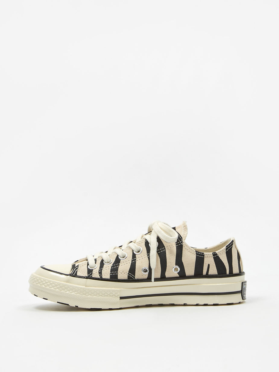 Converse Converse Chuck Taylor All Star 70 Ox - Black/Griege Unbleached - Black