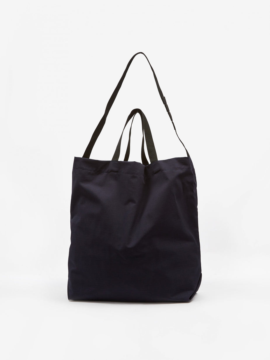 Engineered Garments Engineered Garments Ripstop Carry All Tote - Navy - Blue