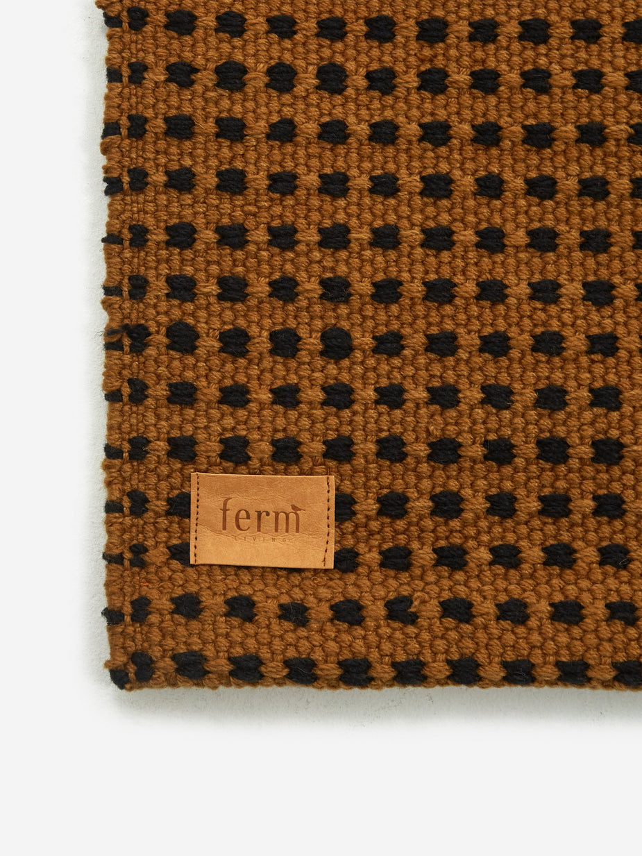 Ferm Living Ferm Living Way Rug - Sugar Kelp - Brown