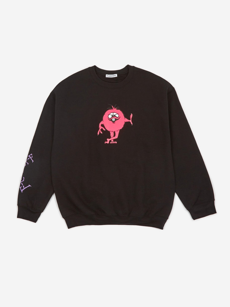 Flagstuff Flagstuff Monster Sweatshirt - Black - Black
