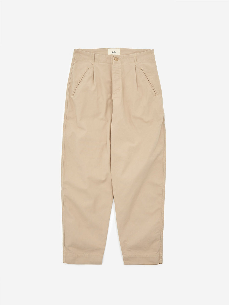 Folk Folk Assembly Pant - Fog - Grey