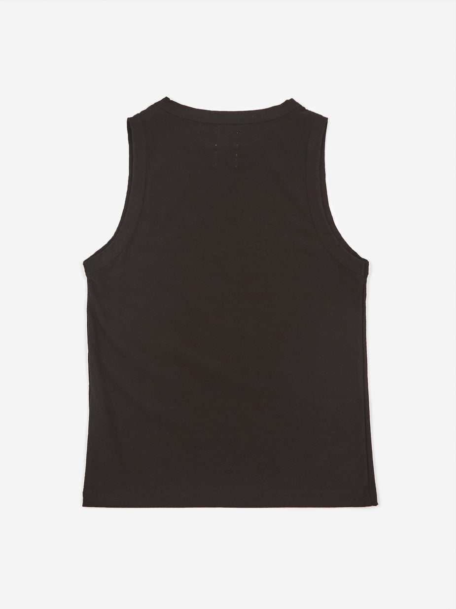 Girls Of Dust Girls Of Dust Johnny Top Light Slub - Black - Black