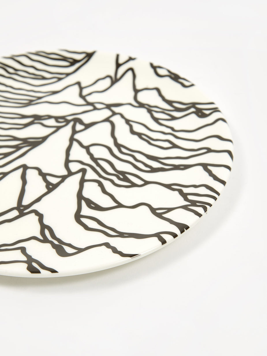Goods By Goodhood Goodhood x Joy Division 'Unknown Pleasures' Plate - White - White