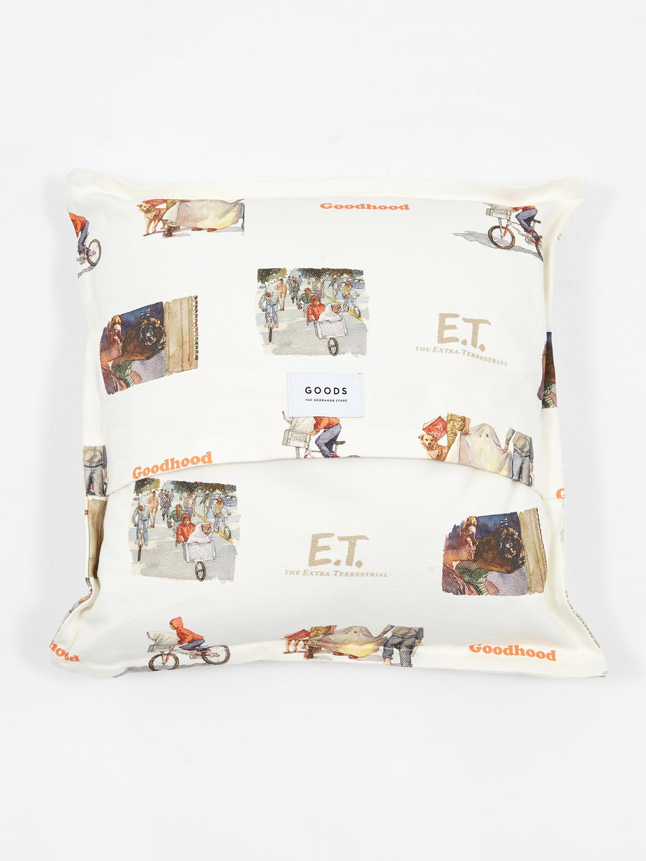 Goods By Goodhood Goodhood x E.T. All Over Print Cushion - White - White