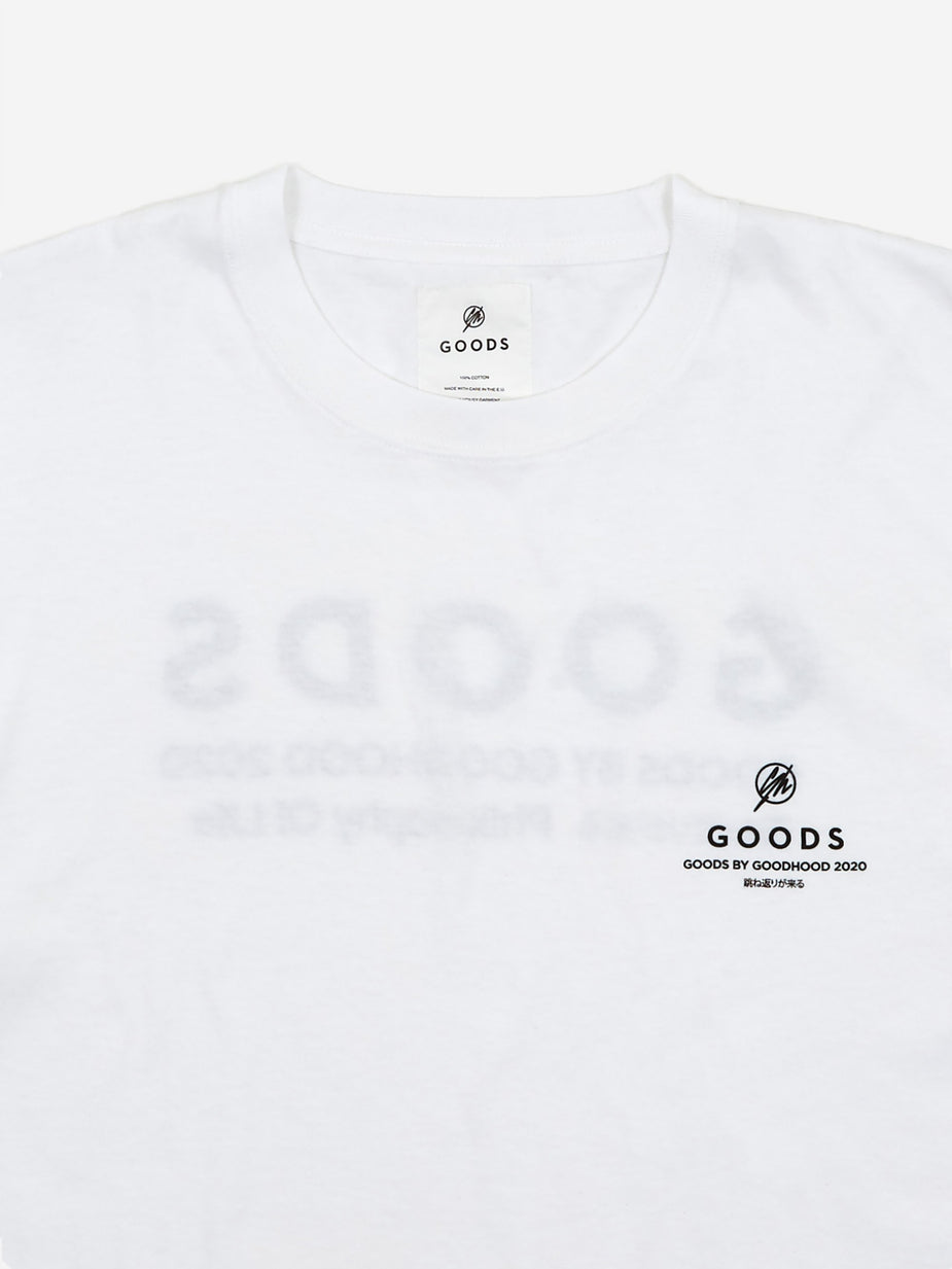 Goods By Goodhood Goods by Goodhood Philosophy Tee - White - White