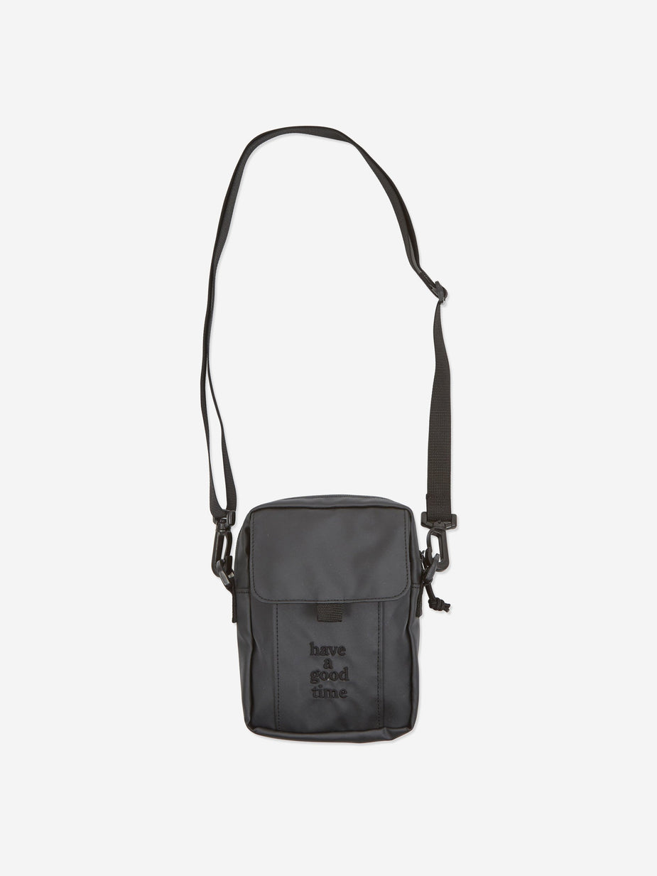 Have A Good Time Have A Good Time Logo Shoulder Bag - Charcoal - Grey