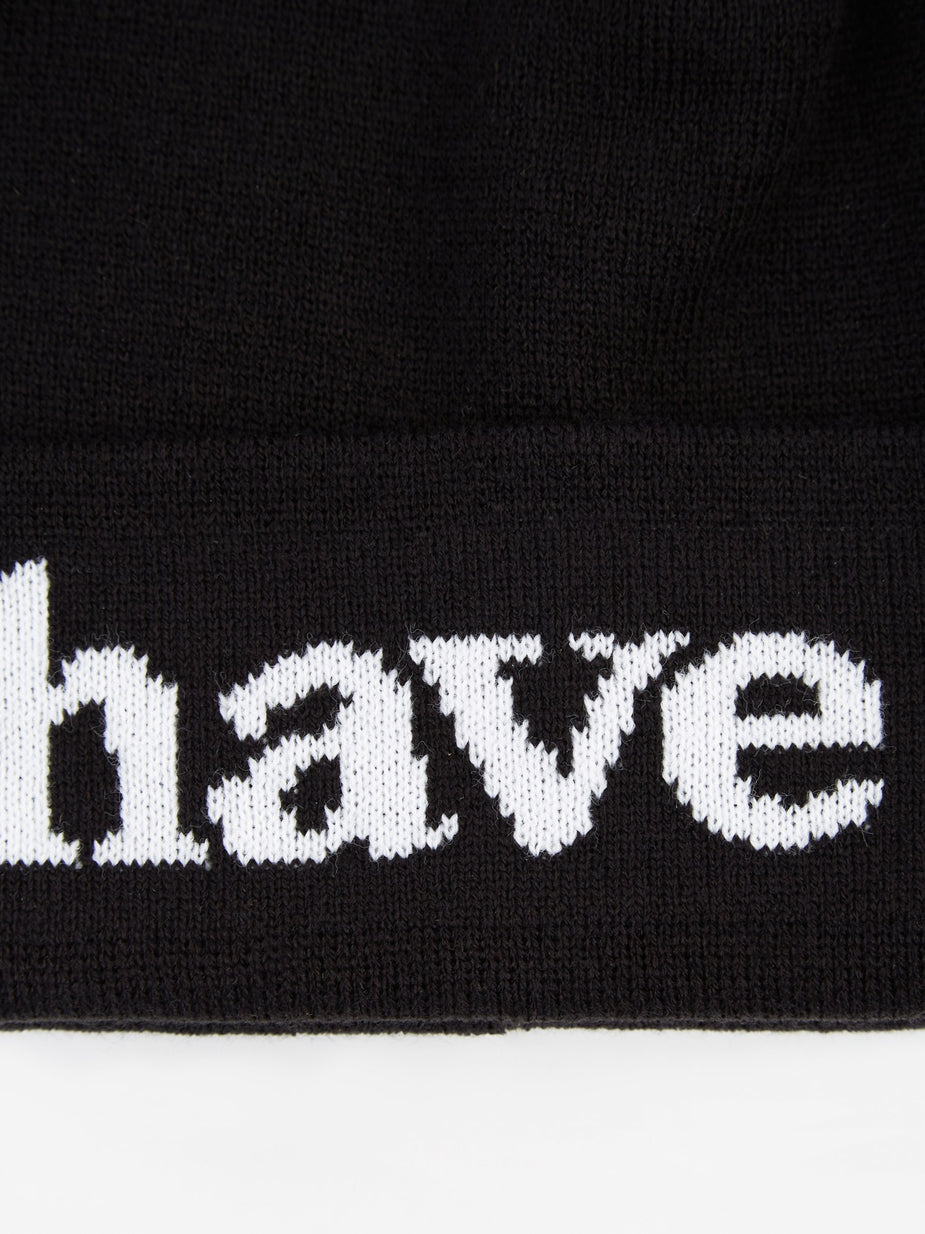 Have A Good Time Have A Good Time Side Logo Beanie - Black - Black