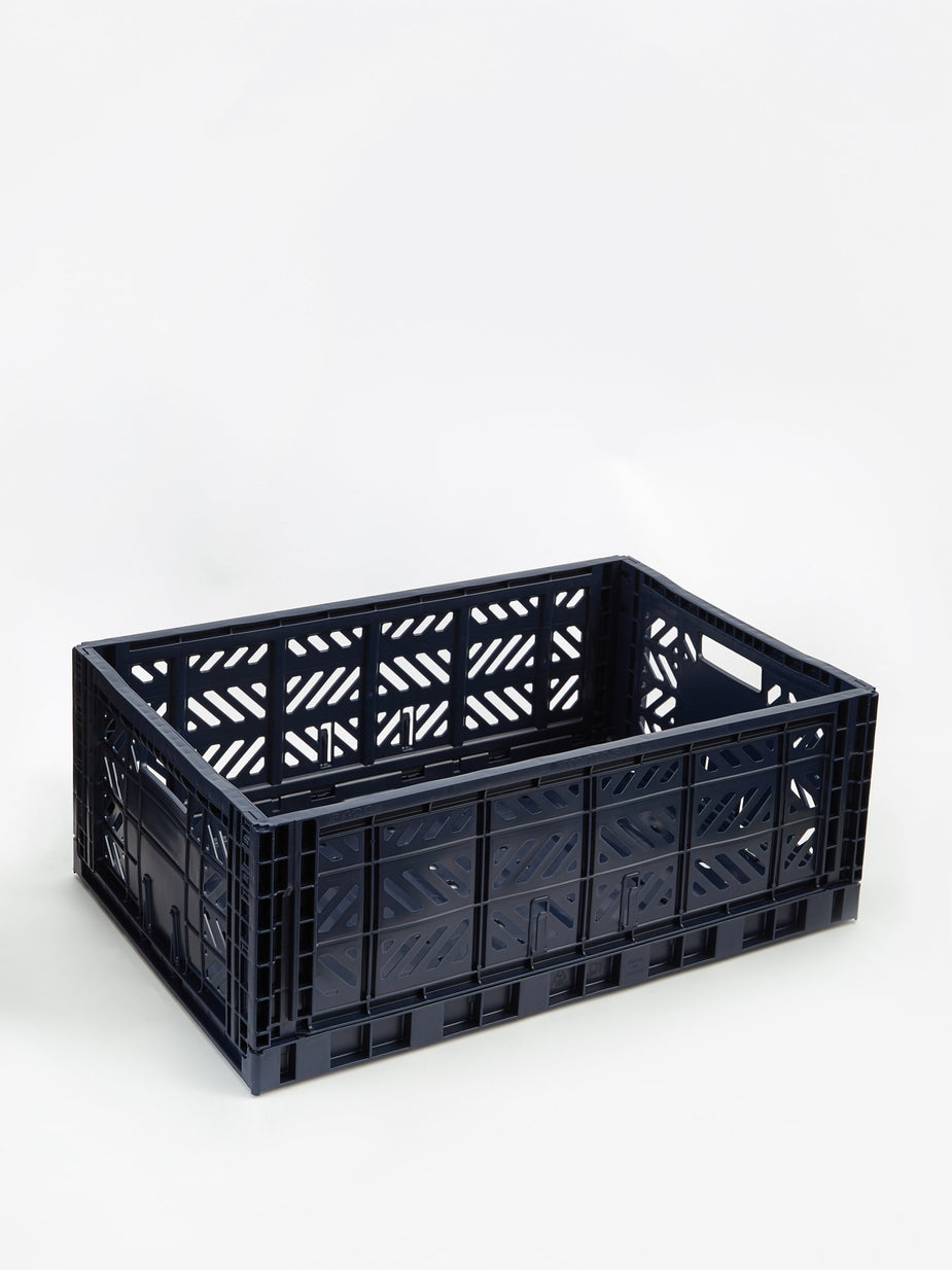 HAY Hay Colour Crate Large - Navy
