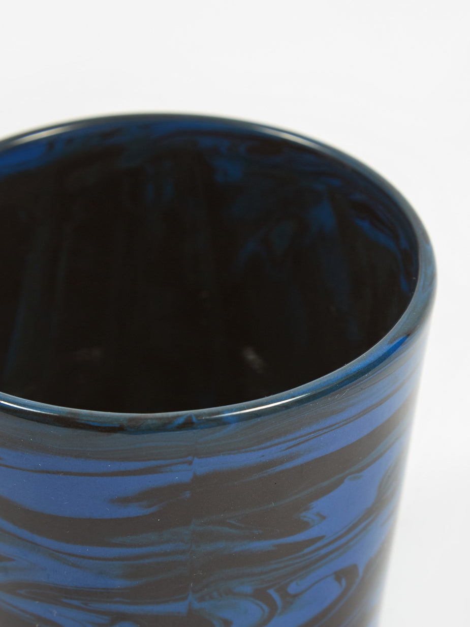 HAY HAY Marbled Cup - Dark Blue