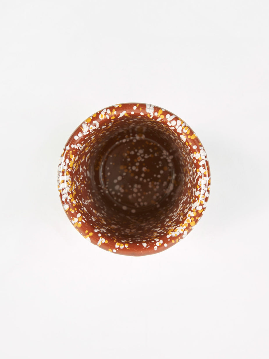 HAY HAY Enamel Sprinkle Cup - Brown