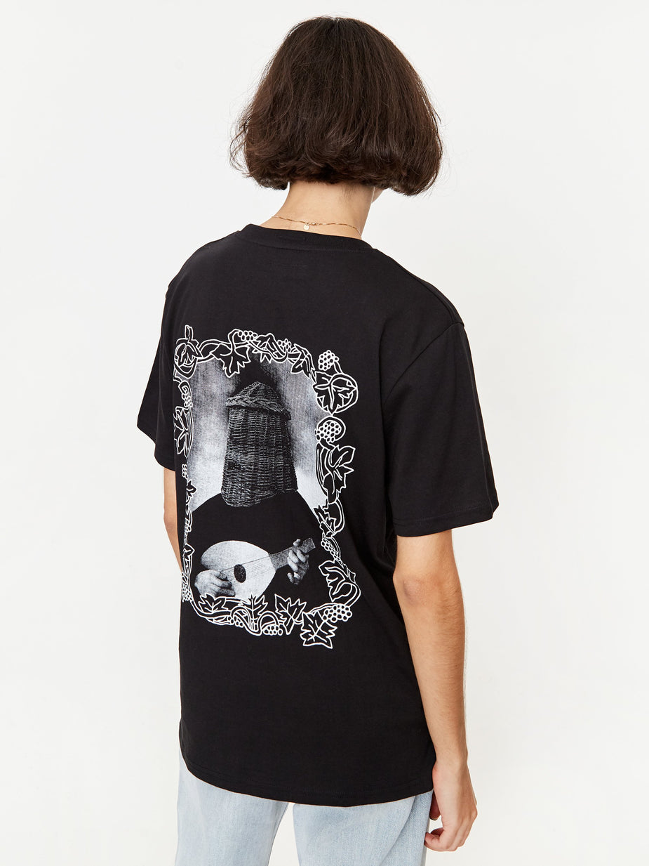 Heresy Heresy x Goodhood The Bard Shortsleeve T-Shirt - Black - Black