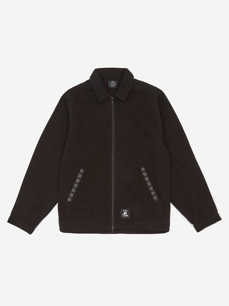Heresy Heresy x S.W.C Stepney Workers Club Shin Kicker Jacket - Black - Black