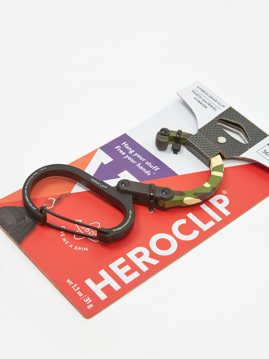 Heroclip Heroclip Small - Woodland Hero - Green