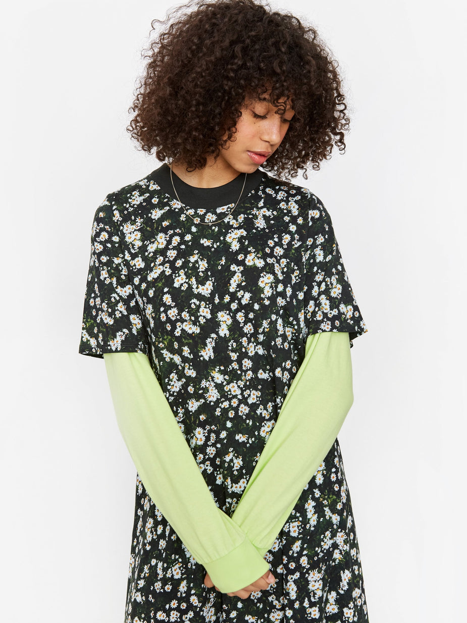 Kowtow Kowtow T-Shirt Swing Dress - Meadow Print