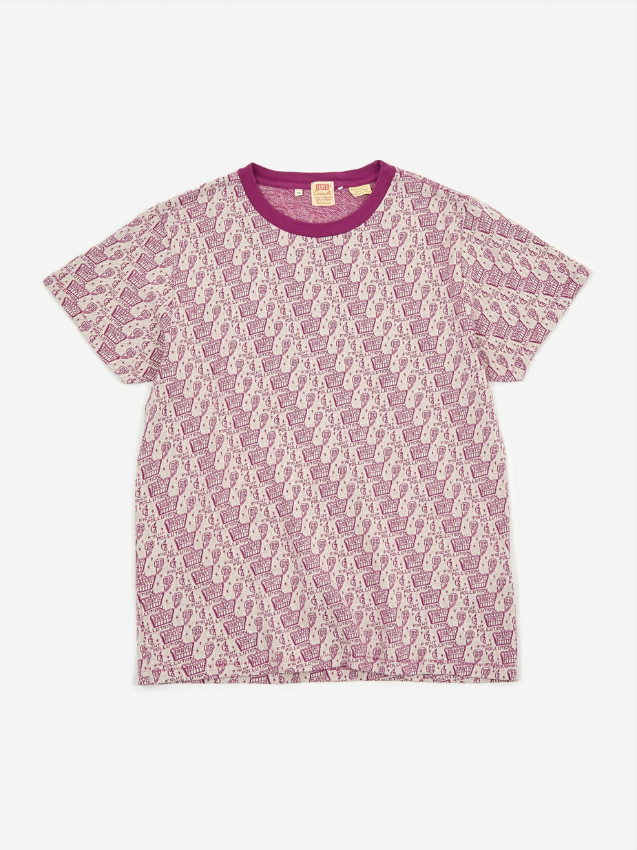 Levi's Vintage Clothing Levis Vintage Clothing Graphic T-shirt - Purple Multi - Purple