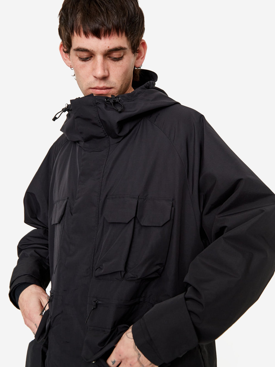 F/CE F/CE Mountain Balloon Coat - Black - Black