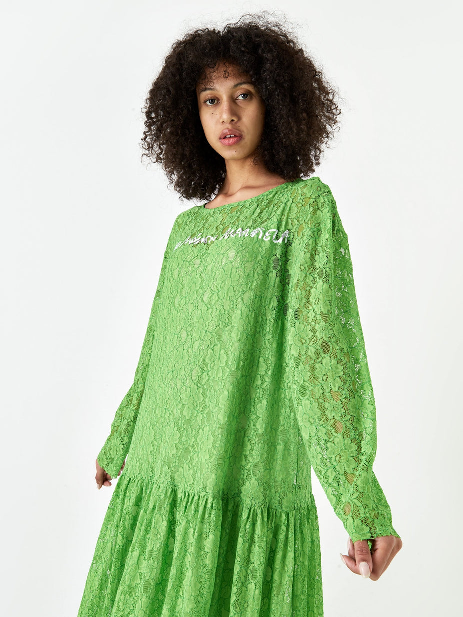 MM6 Maison Margiela MM6 Maison Margiela Lace Dress - Green - Green