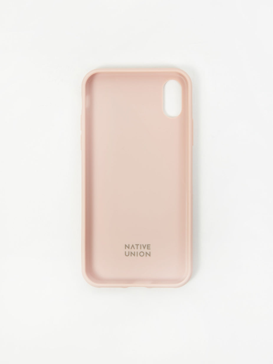 Native Union Native Union Clic Canvas iPhone Xs Case - Rose - Pink