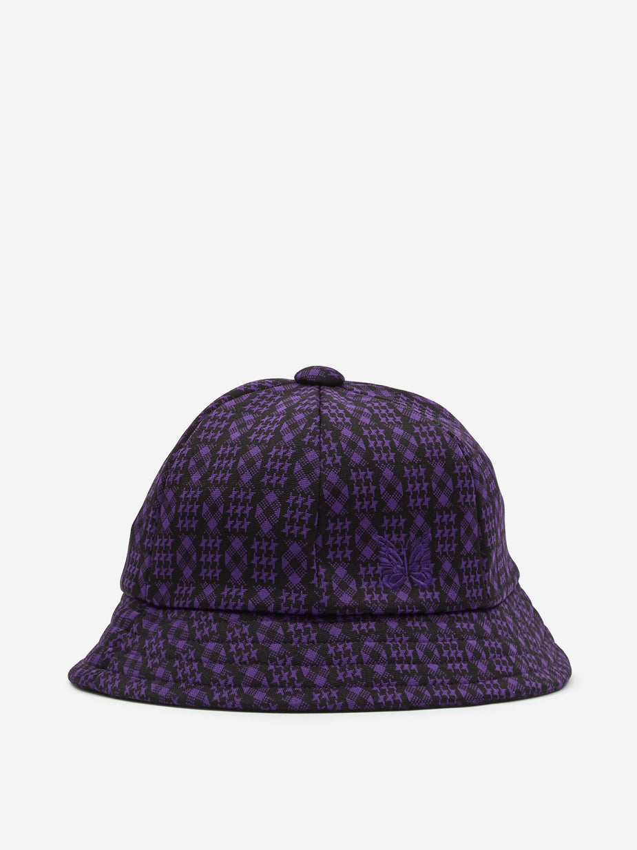 Needles Needles Bermuda Hat - Houndstooth - Purple