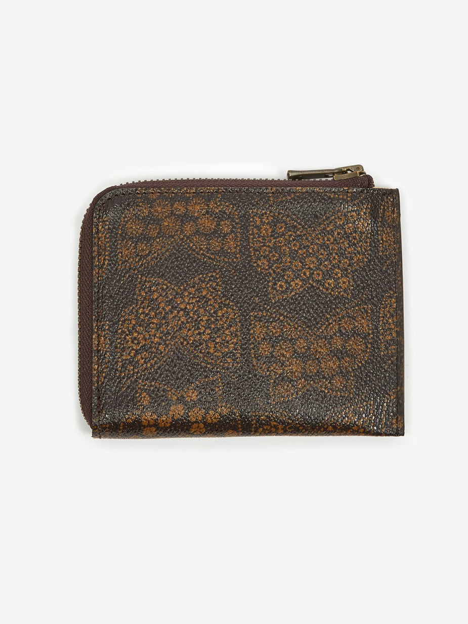 Needles Needles Papillon Coin Case - Brown - Brown