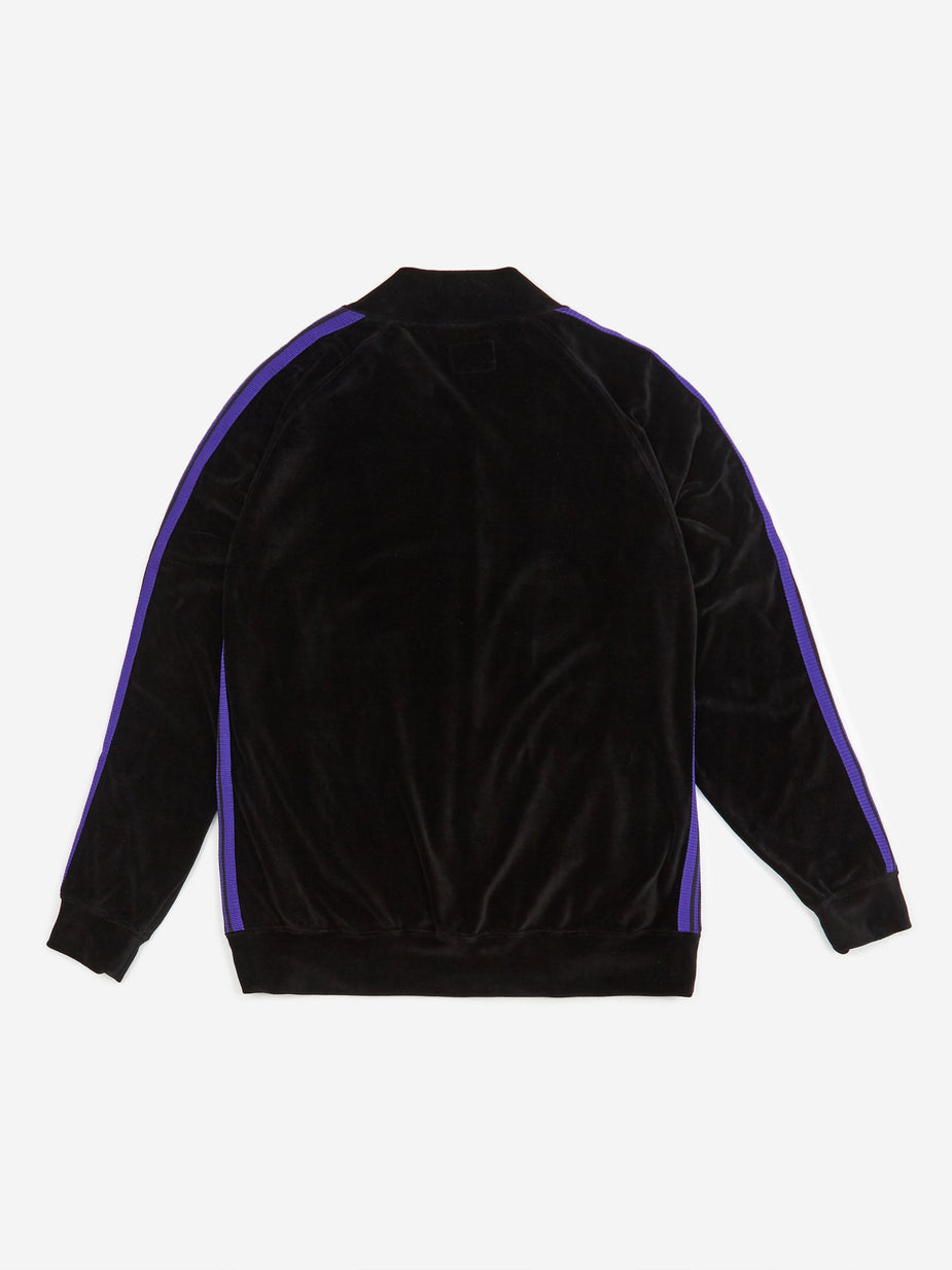 Needles Needles Rib Collar Track Jacket - Black - Black