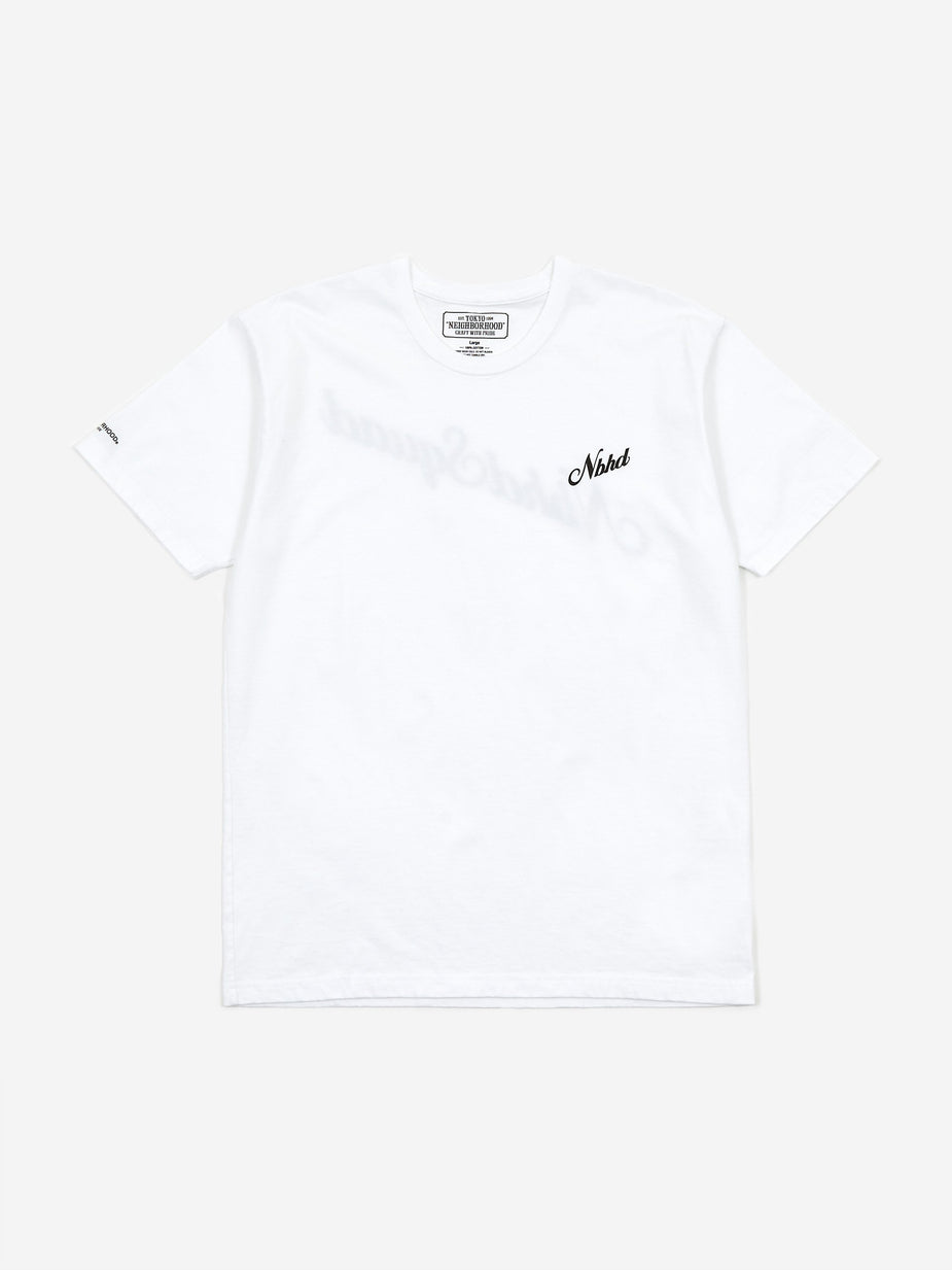Neighborhood Neighborhood NH Squad / C-Tee Shortsleeve - White/Black - Black