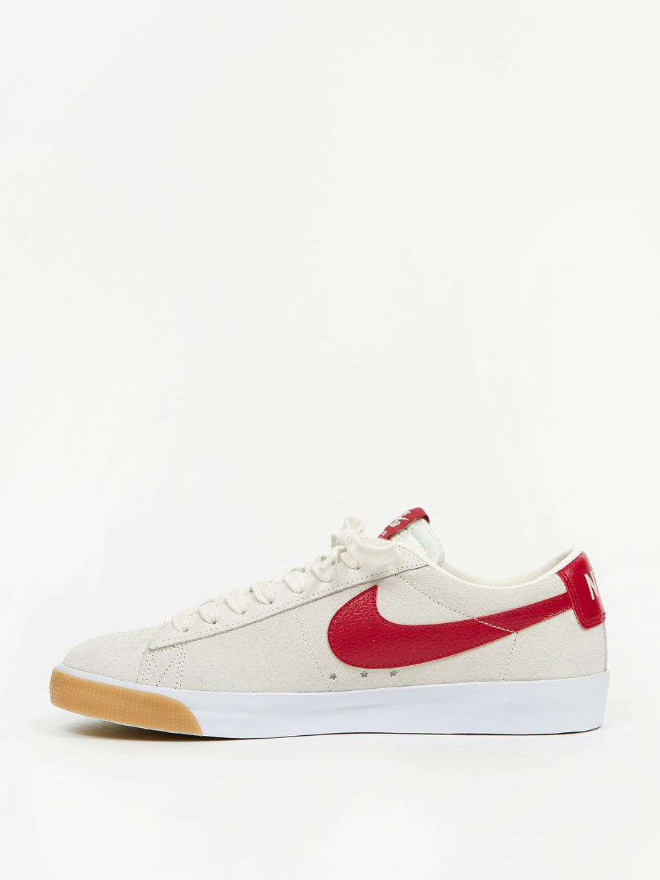 Nike Nike SB Blazer Low GT - Sail/Cardinal Red/ White/Gum - Multi