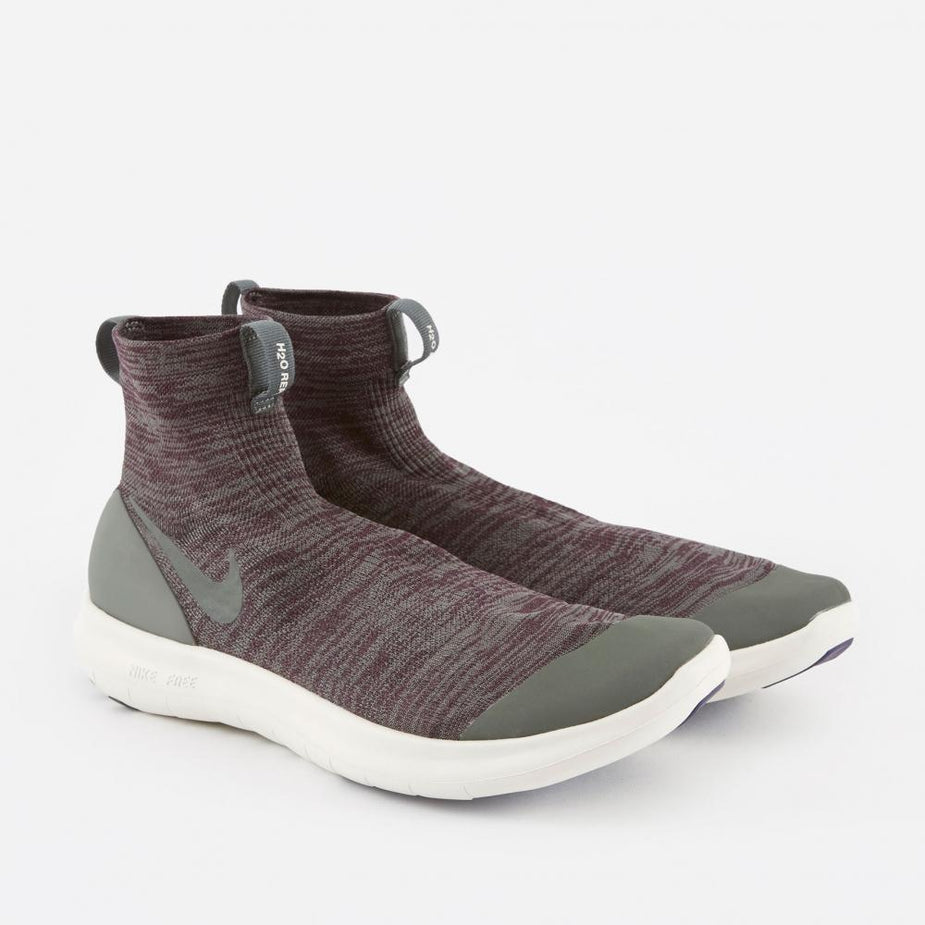Nike x Undercover Gyakusou Nike NikeLab Veil Gyakusou Running Shoe - Port Wine/River Rock - Burgundy - Red