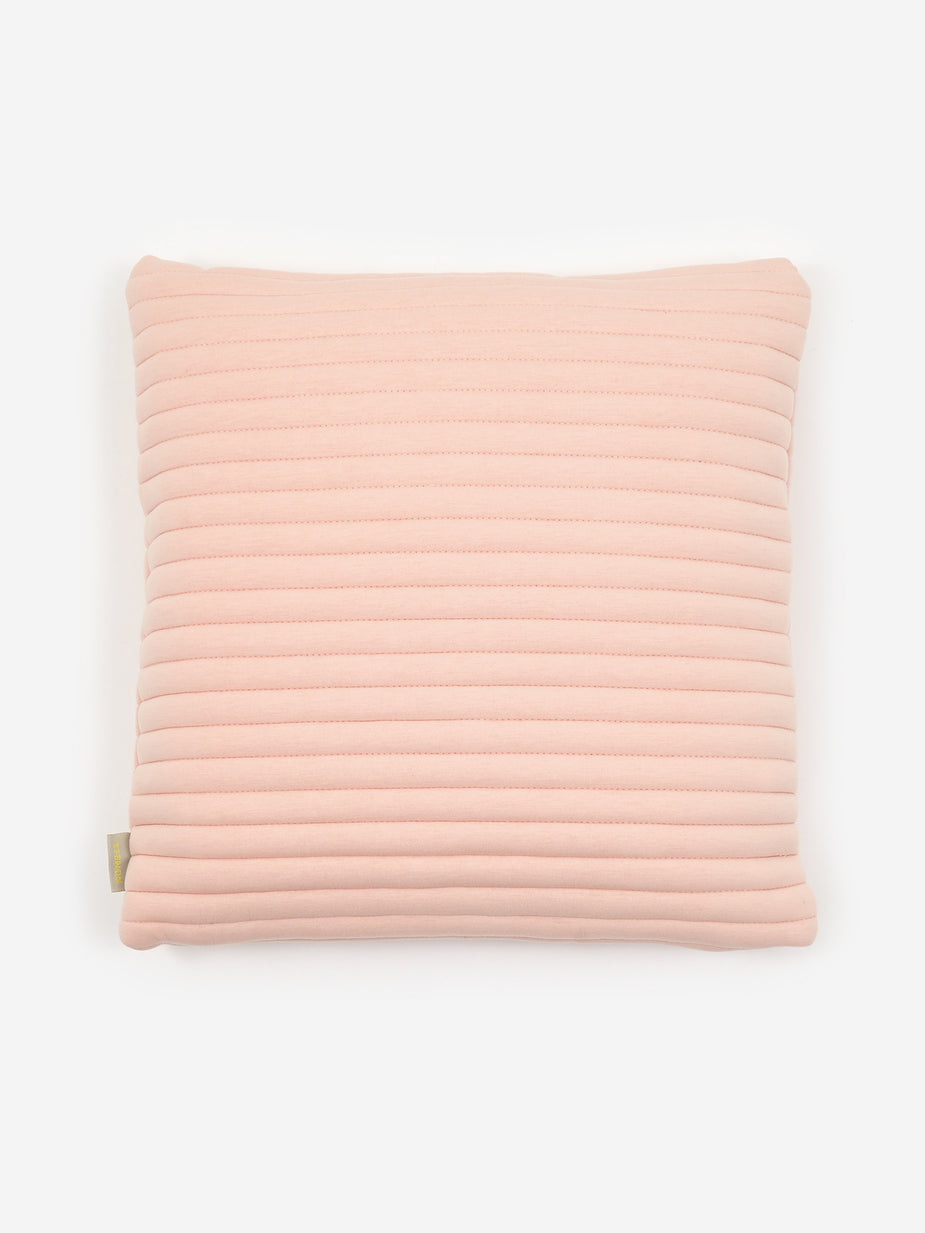Nomess Nomess Linear Memory Pillow Square - Nude - Neutrals