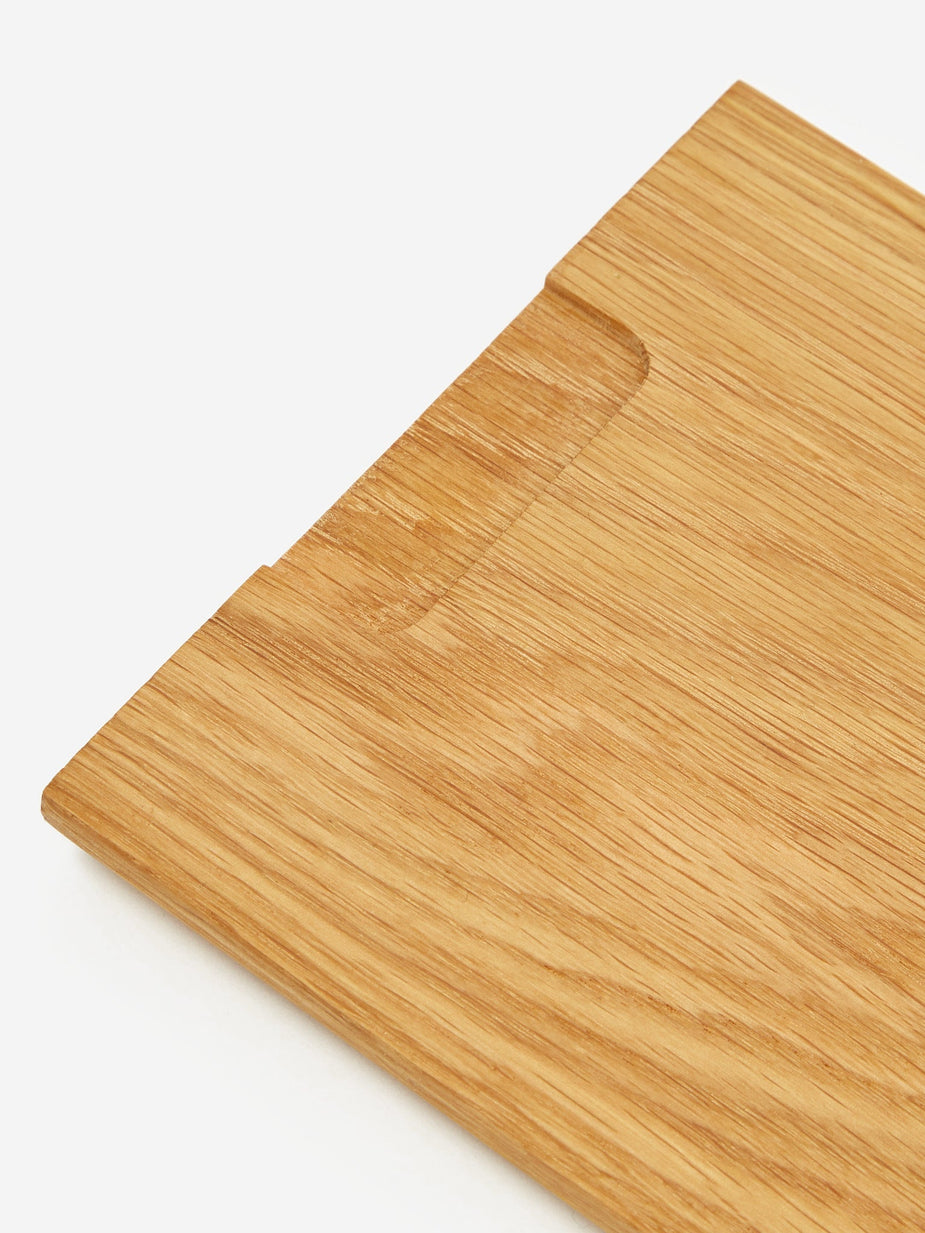 Normann Copenhagen Normann Copenhagen Part Cutting Board Snack - Oak - Brown