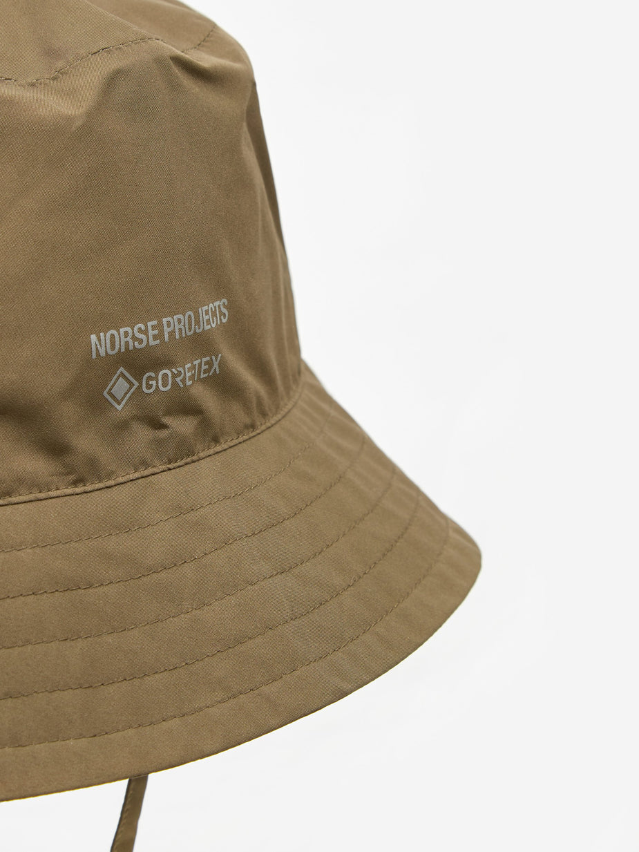 Norse Projects Norse Projects Gore-Tex Bucket Hat - Shale - Grey