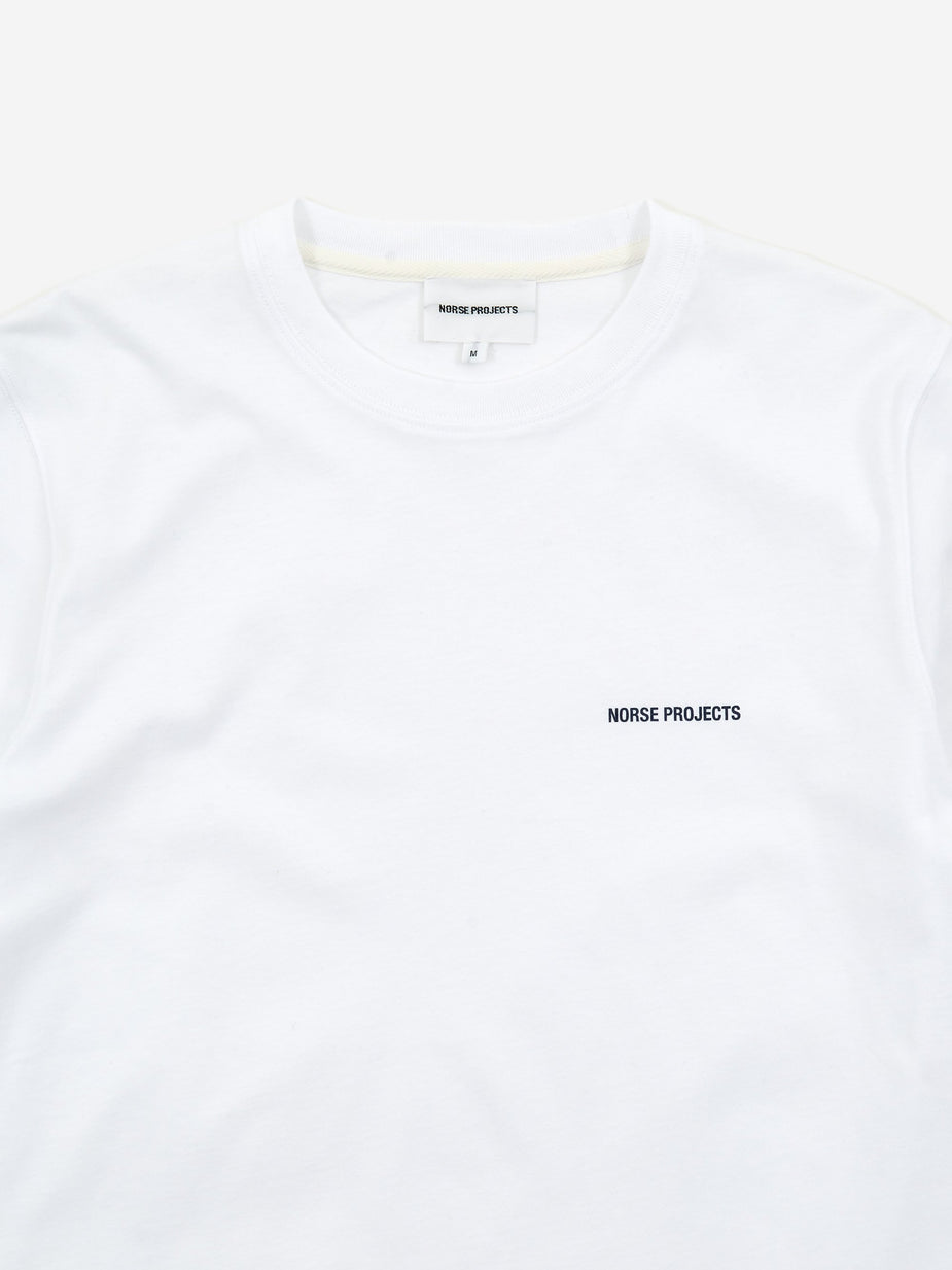 Norse Projects Norse Projects Niels Logo T-Shirt - White - White