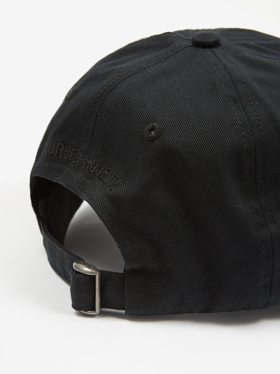 Norse Projects Norse Projects Twill Sports Cap - Black - Black