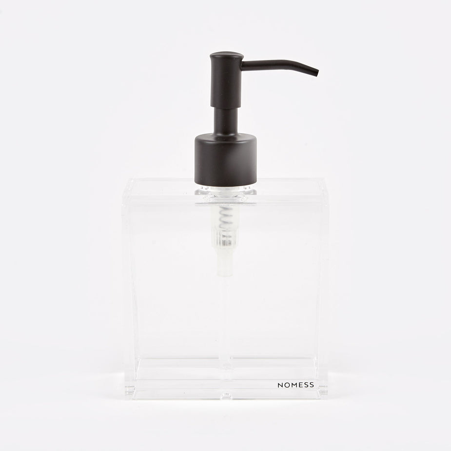 Nomess Nomess Clear Soap Dispenser Small - Black - Other