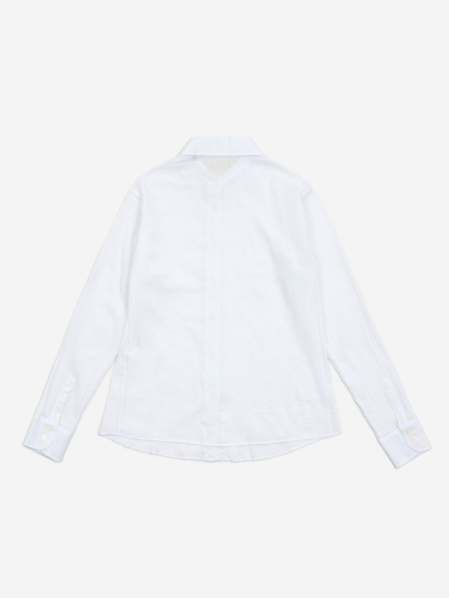 Our Legacy Our Legacy 70s Line Shirt - White - White