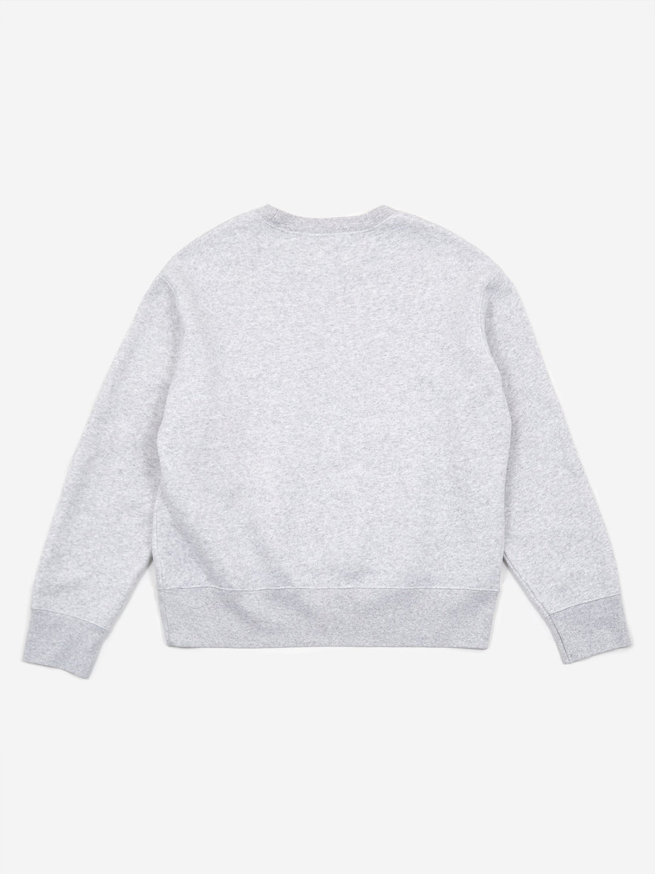 Our Legacy Our Legacy Base Crewneck Sweatshirt - Light Grey Melange - Grey