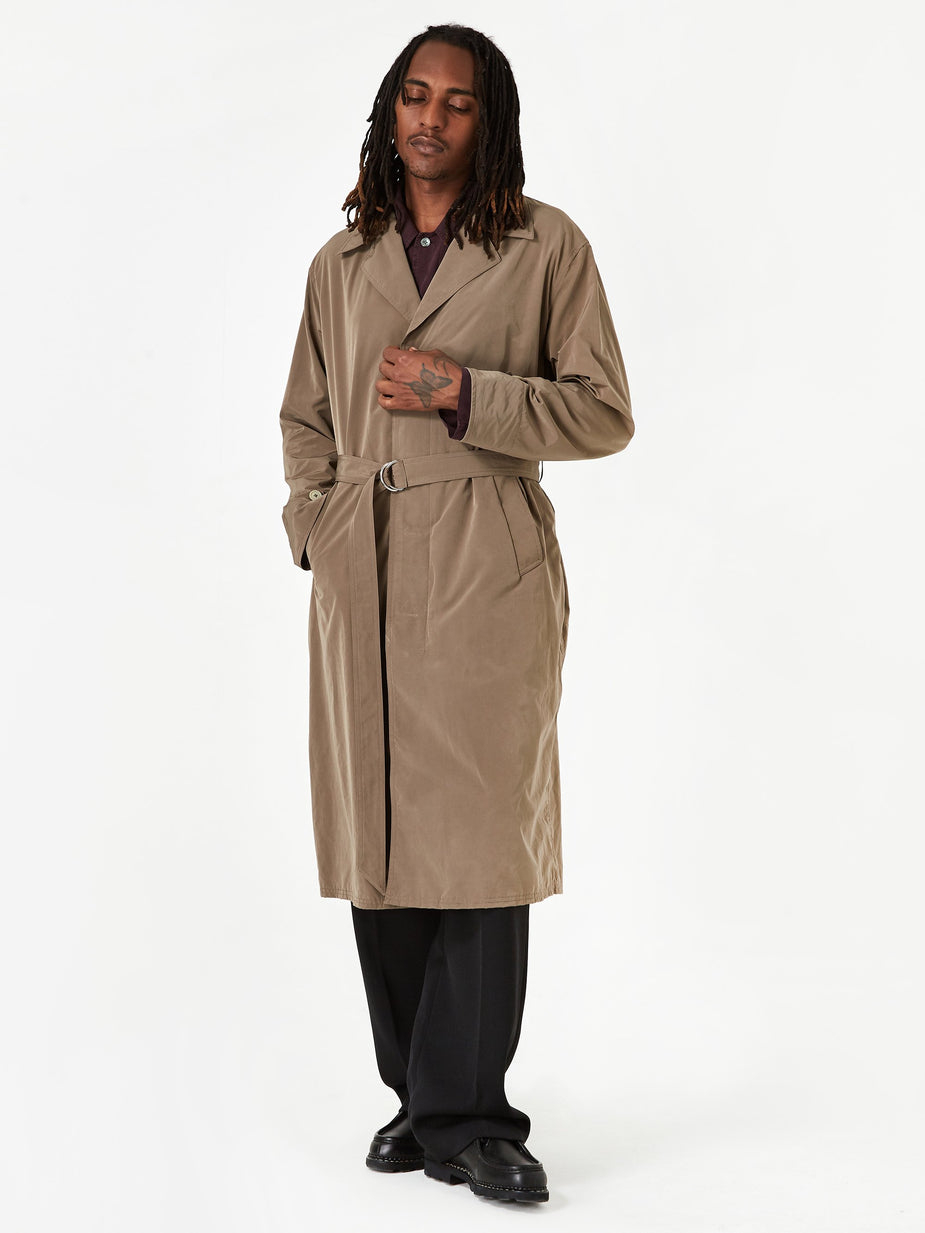 Our Legacy Our Legacy Longfin Coat - Velvet Grey - Grey