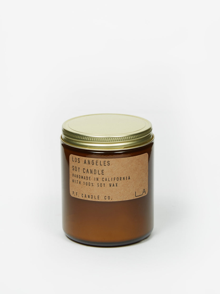 P.F. Candle Co. P.F. Candle Co. Los Angeles Limited Edition 7.2oz Soy Candle - 7.2oz - Brown