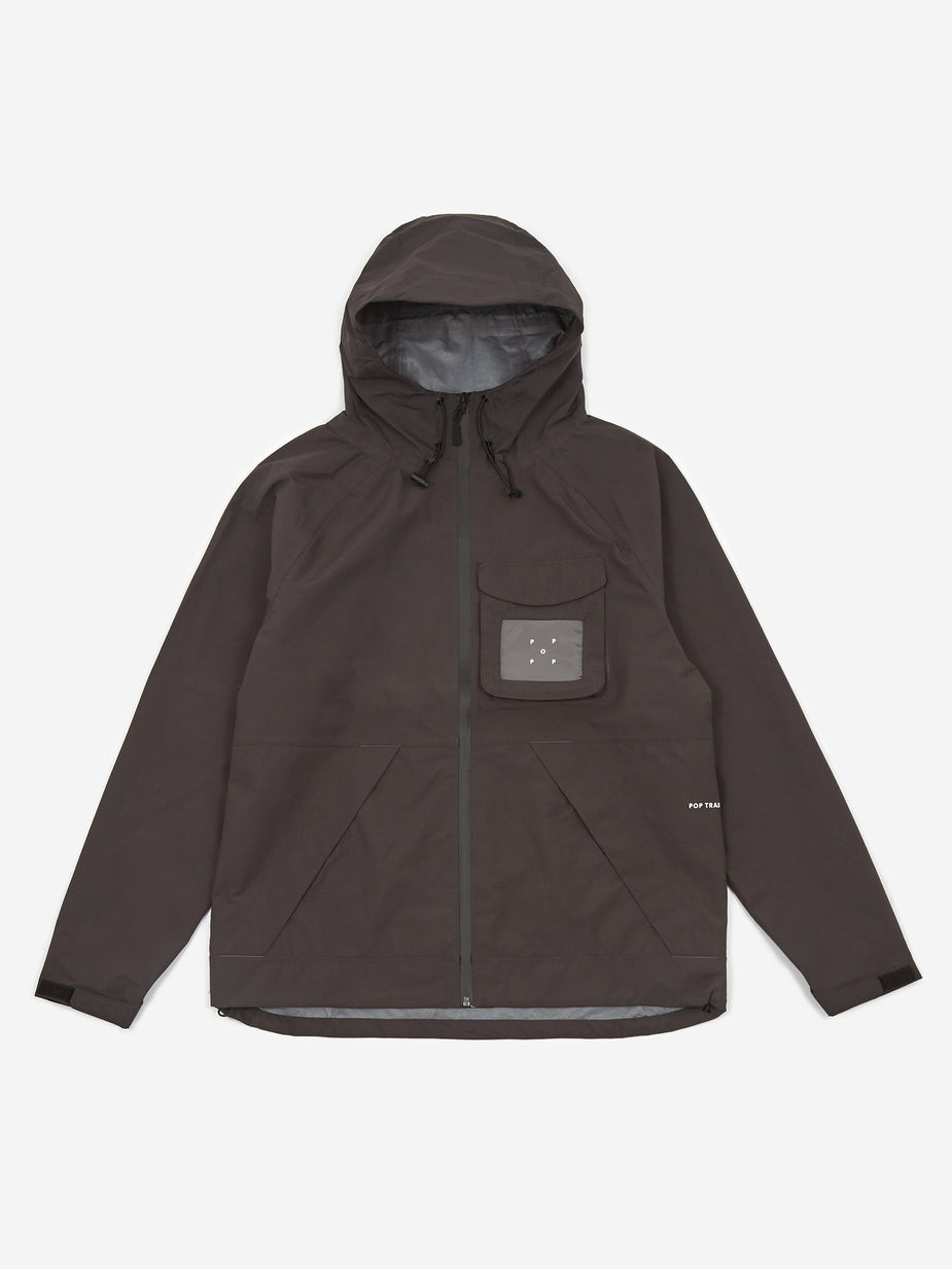 Pop Trading Company Pop Trading Company Oracle Jacket - Anthracite - Black