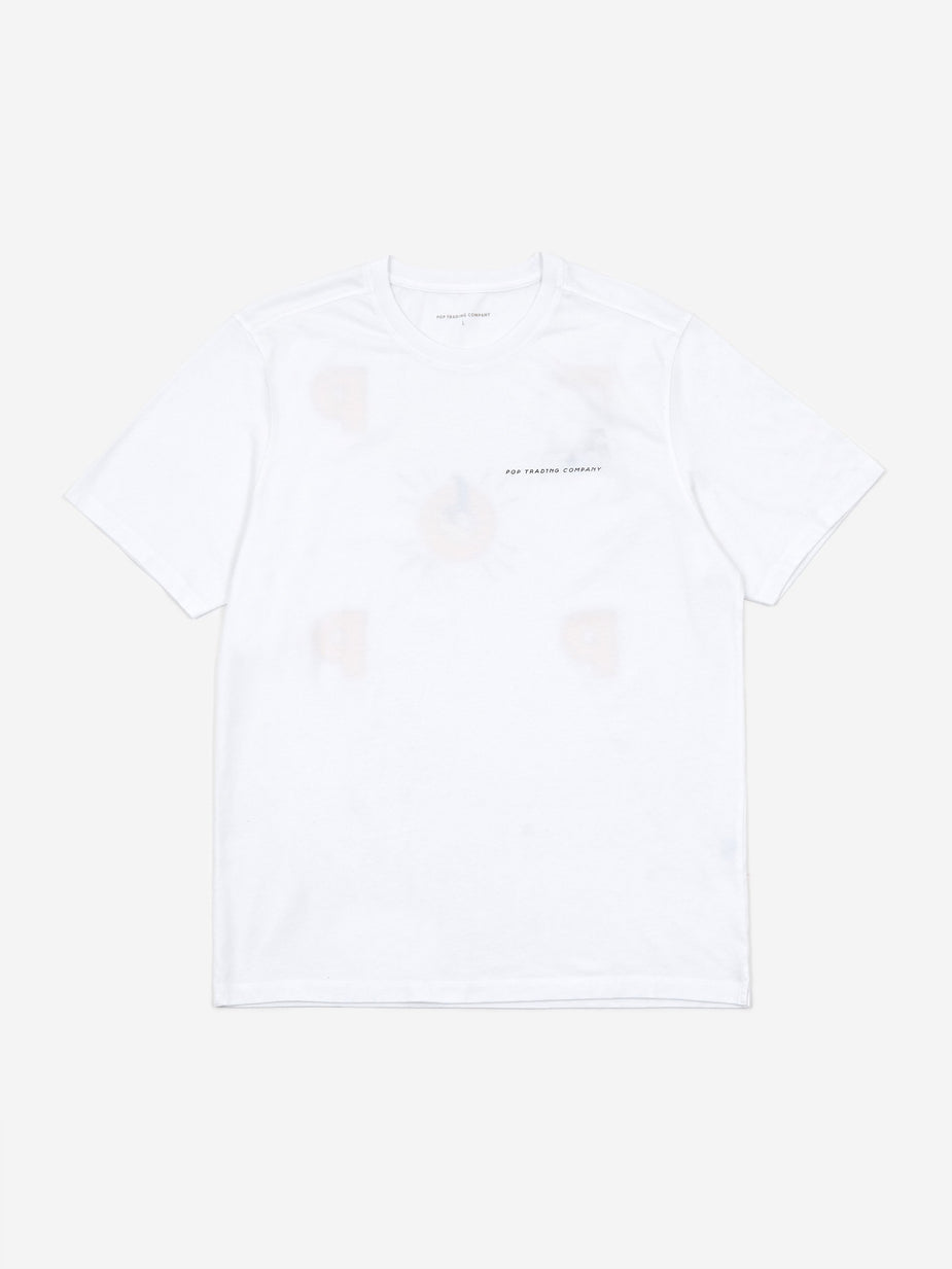Pop Trading Company Pop Trading Company x Joost Swarte Shortsleeve T-Shirt - White - White