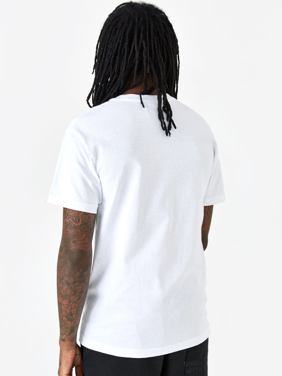 PRMTVO PRMTVO Mr. Natural Shortsleeve T-Shirt - White - White